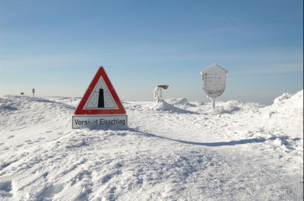 Schneehöhe Brocken